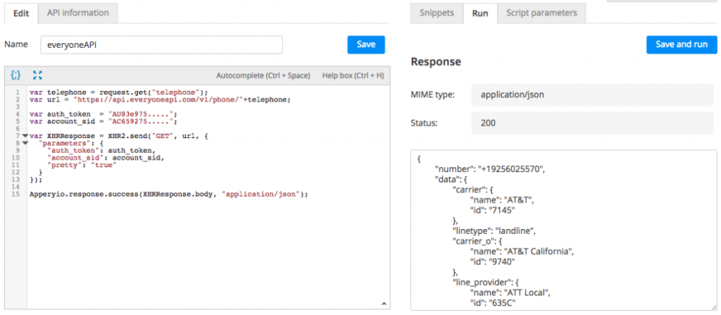 Server Code script